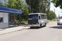 Ситилайт №235137 в городе Херсон (Херсонская область), размещение наружной рекламы, IDMedia-аренда по самым низким ценам!