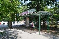 Ситилайт №235165 в городе Херсон (Херсонская область), размещение наружной рекламы, IDMedia-аренда по самым низким ценам!