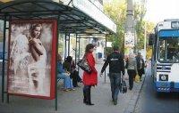 Ситилайт №235231 в городе Херсон (Херсонская область), размещение наружной рекламы, IDMedia-аренда по самым низким ценам!