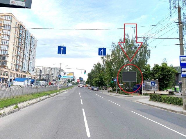 Экран №235395 в городе Луцк (Волынская область), размещение наружной рекламы, IDMedia-аренда по самым низким ценам!