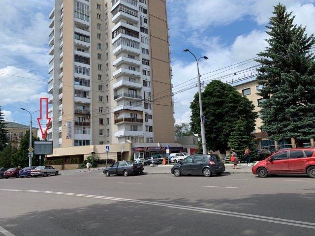 Экран №235402 в городе Луцк (Волынская область), размещение наружной рекламы, IDMedia-аренда по самым низким ценам!