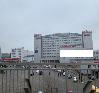 Брандмауэр №235501 в городе Харьков (Харьковская область), размещение наружной рекламы, IDMedia-аренда по самым низким ценам!