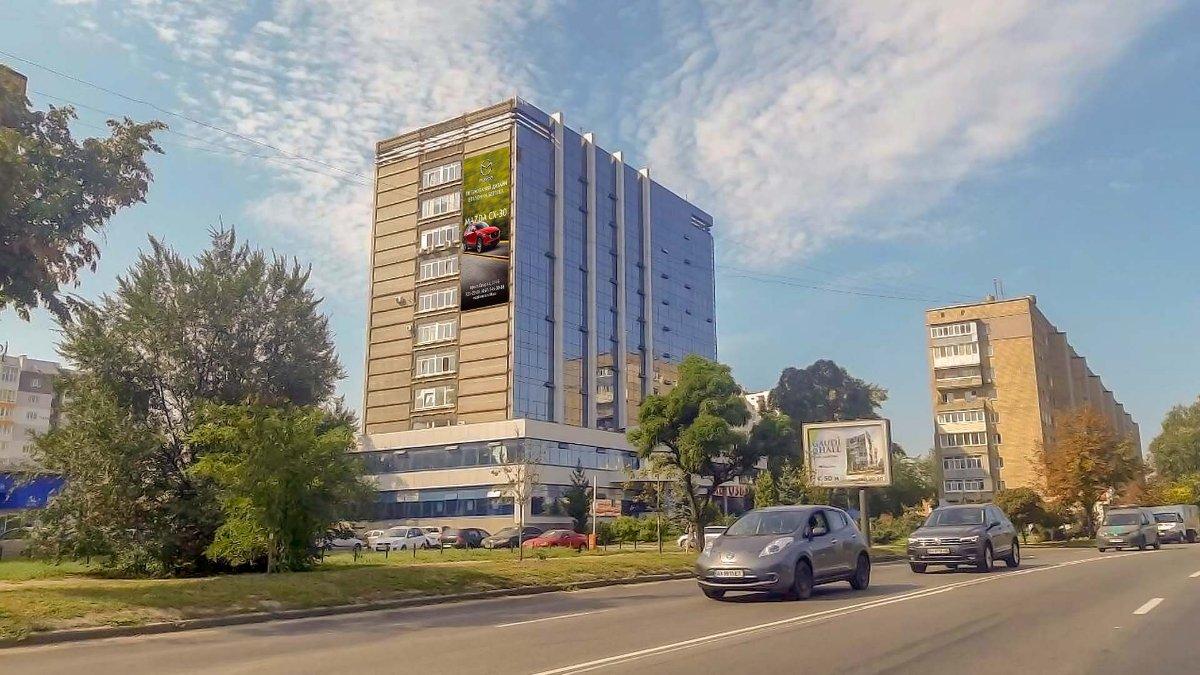 Брандмауэр №235509 в городе Харьков (Харьковская область), размещение наружной рекламы, IDMedia-аренда по самым низким ценам!