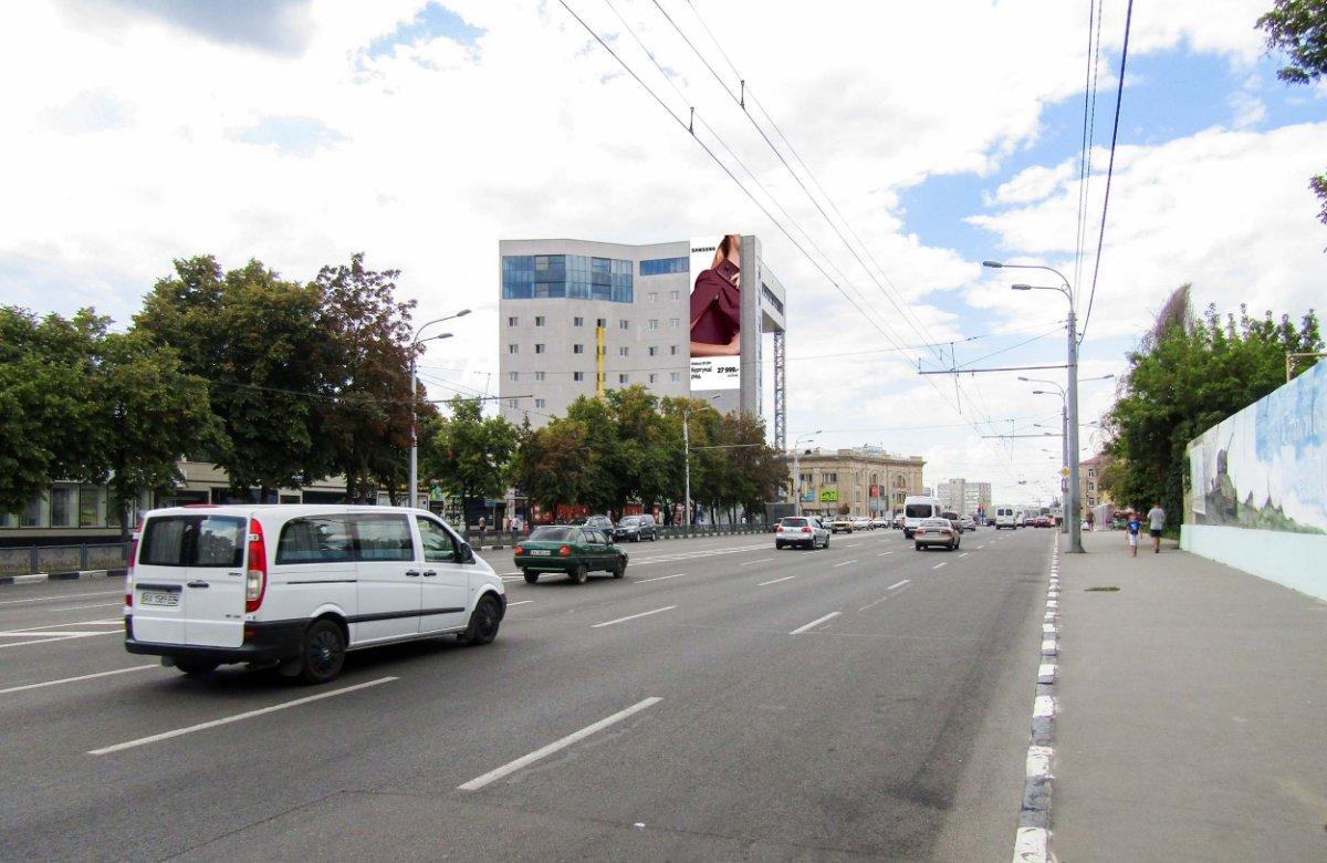 Брандмауэр №235511 в городе Харьков (Харьковская область), размещение наружной рекламы, IDMedia-аренда по самым низким ценам!