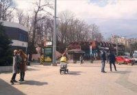 Ситилайт №235646 в городе Одесса (Одесская область), размещение наружной рекламы, IDMedia-аренда по самым низким ценам!