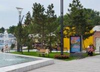 Ситилайт №235659 в городе Одесса (Одесская область), размещение наружной рекламы, IDMedia-аренда по самым низким ценам!
