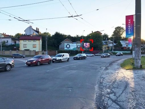 Экран №235722 в городе Львов (Львовская область), размещение наружной рекламы, IDMedia-аренда по самым низким ценам!