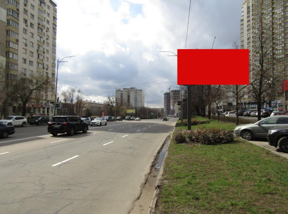 Экран №235727 в городе Киев (Киевская область), размещение наружной рекламы, IDMedia-аренда по самым низким ценам!