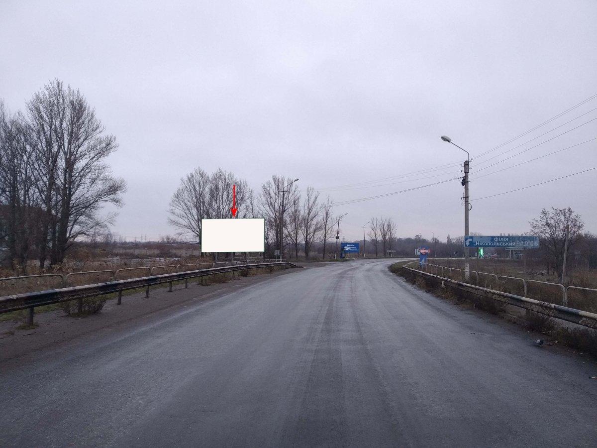 Билборд №235769 в городе Никополь (Днепропетровская область), размещение наружной рекламы, IDMedia-аренда по самым низким ценам!