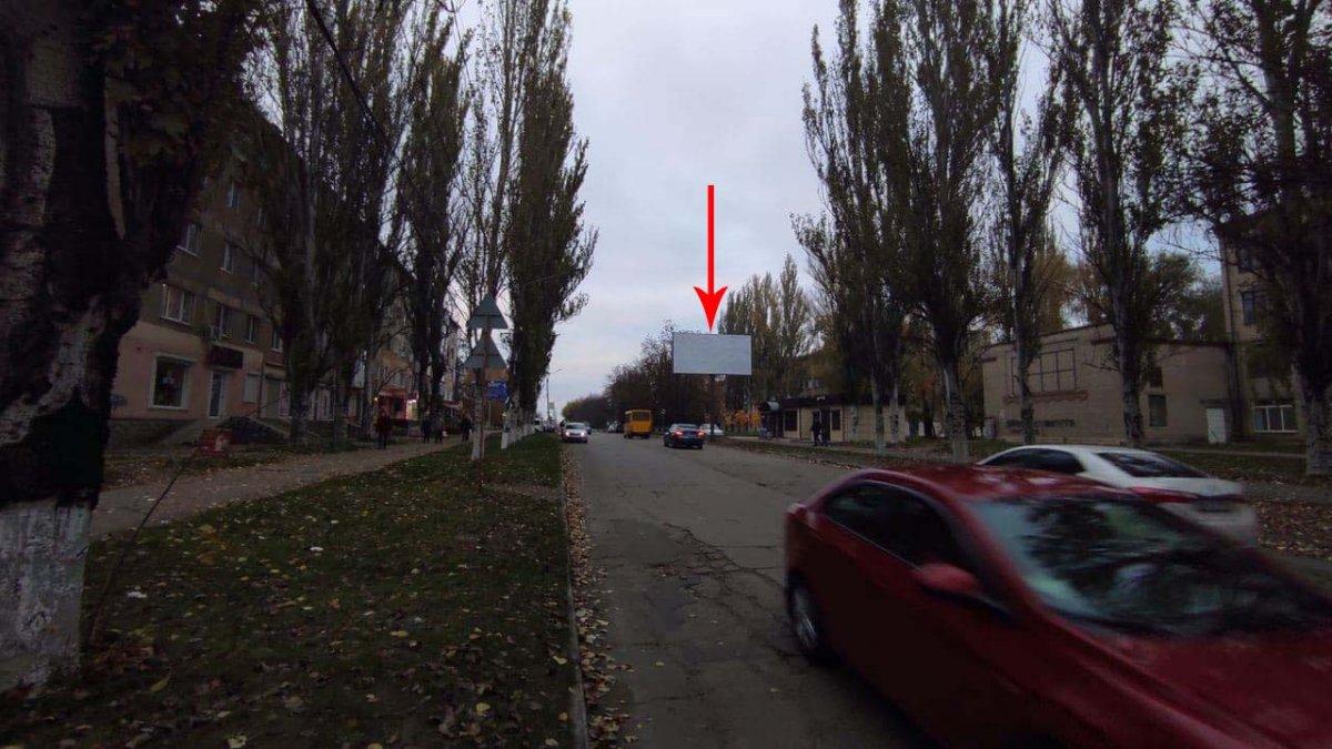 Билборд №235772 в городе Марганец (Днепропетровская область), размещение наружной рекламы, IDMedia-аренда по самым низким ценам!