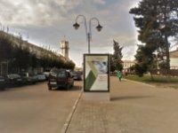 Ситилайт №235875 в городе Коломыя (Ивано-Франковская область), размещение наружной рекламы, IDMedia-аренда по самым низким ценам!