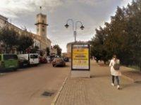 Ситилайт №235877 в городе Коломыя (Ивано-Франковская область), размещение наружной рекламы, IDMedia-аренда по самым низким ценам!