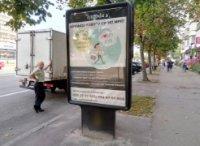 Ситилайт №236095 в городе Чернигов (Черниговская область), размещение наружной рекламы, IDMedia-аренда по самым низким ценам!
