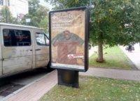 Ситилайт №236100 в городе Чернигов (Черниговская область), размещение наружной рекламы, IDMedia-аренда по самым низким ценам!