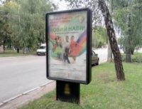 Ситилайт №236124 в городе Чернигов (Черниговская область), размещение наружной рекламы, IDMedia-аренда по самым низким ценам!