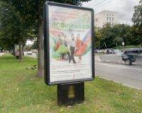 Ситилайт №236131 в городе Чернигов (Черниговская область), размещение наружной рекламы, IDMedia-аренда по самым низким ценам!