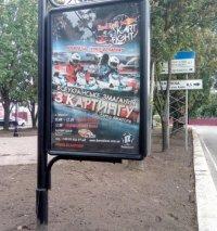 Ситилайт №236135 в городе Чернигов (Черниговская область), размещение наружной рекламы, IDMedia-аренда по самым низким ценам!