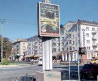 Ситилайт №236138 в городе Чернигов (Черниговская область), размещение наружной рекламы, IDMedia-аренда по самым низким ценам!