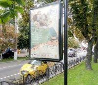 Ситилайт №236142 в городе Чернигов (Черниговская область), размещение наружной рекламы, IDMedia-аренда по самым низким ценам!