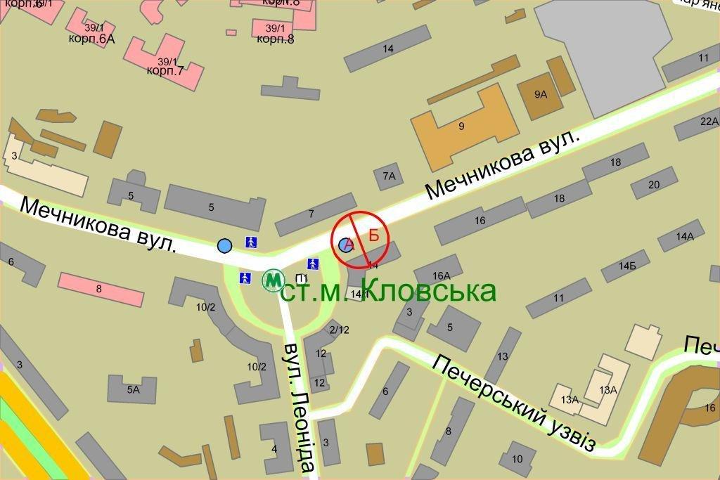 IDMedia Наружная реклама в городе Киев (Киевская область), Ситилайт в городе Киев №236892 схема