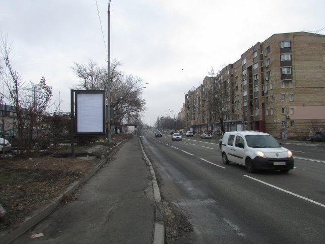 Ситилайт №237144 в городе Киев (Киевская область), размещение наружной рекламы, IDMedia-аренда по самым низким ценам!