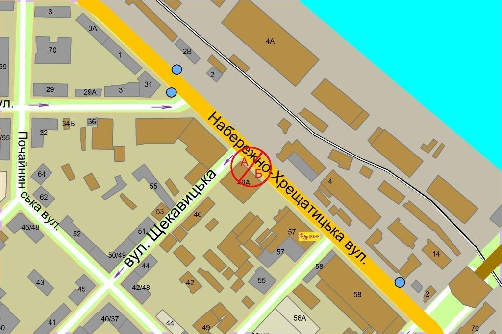 IDMedia Наружная реклама в городе Киев (Киевская область), Ситилайт в городе Киев №237167 схема