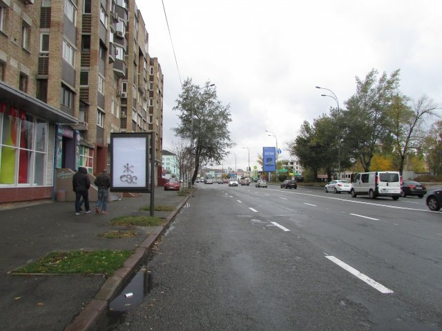 Ситилайт №237184 в городе Киев (Киевская область), размещение наружной рекламы, IDMedia-аренда по самым низким ценам!