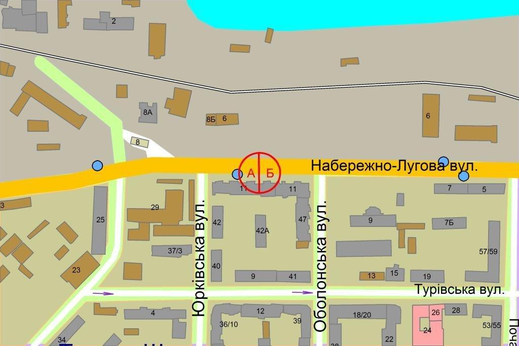 IDMedia Наружная реклама в городе Киев (Киевская область), Ситилайт в городе Киев №237184 схема