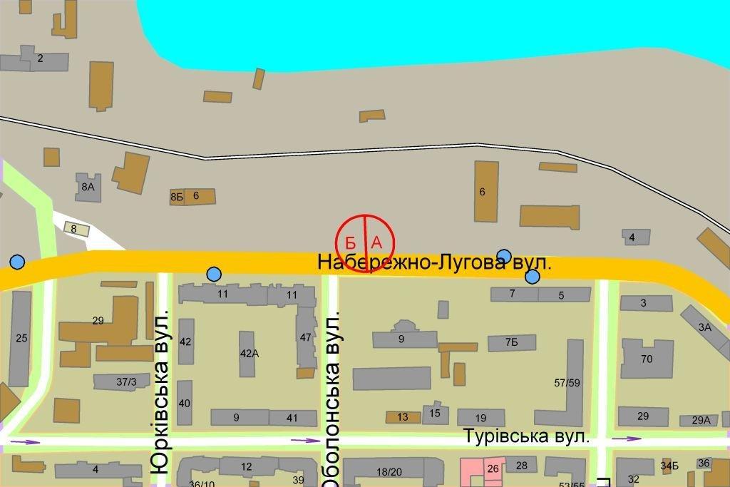 IDMedia Наружная реклама в городе Киев (Киевская область), Ситилайт в городе Киев №237227 схема