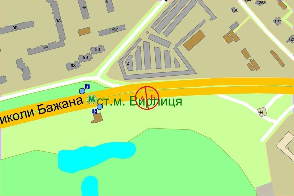 IDMedia Наружная реклама в городе Киев (Киевская область), Бэклайт в городе Киев №238102 схема