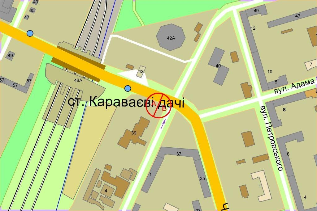 IDMedia Наружная реклама в городе Киев (Киевская область), Экран в городе Киев №238205 схема