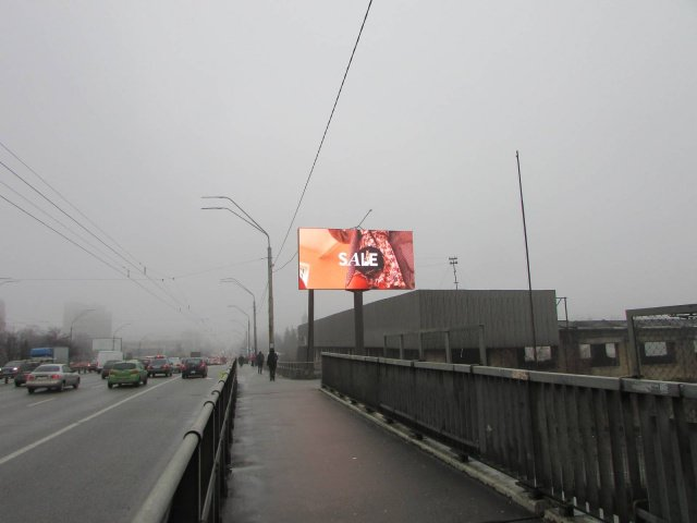 Экран №238256 в городе Киев (Киевская область), размещение наружной рекламы, IDMedia-аренда по самым низким ценам!