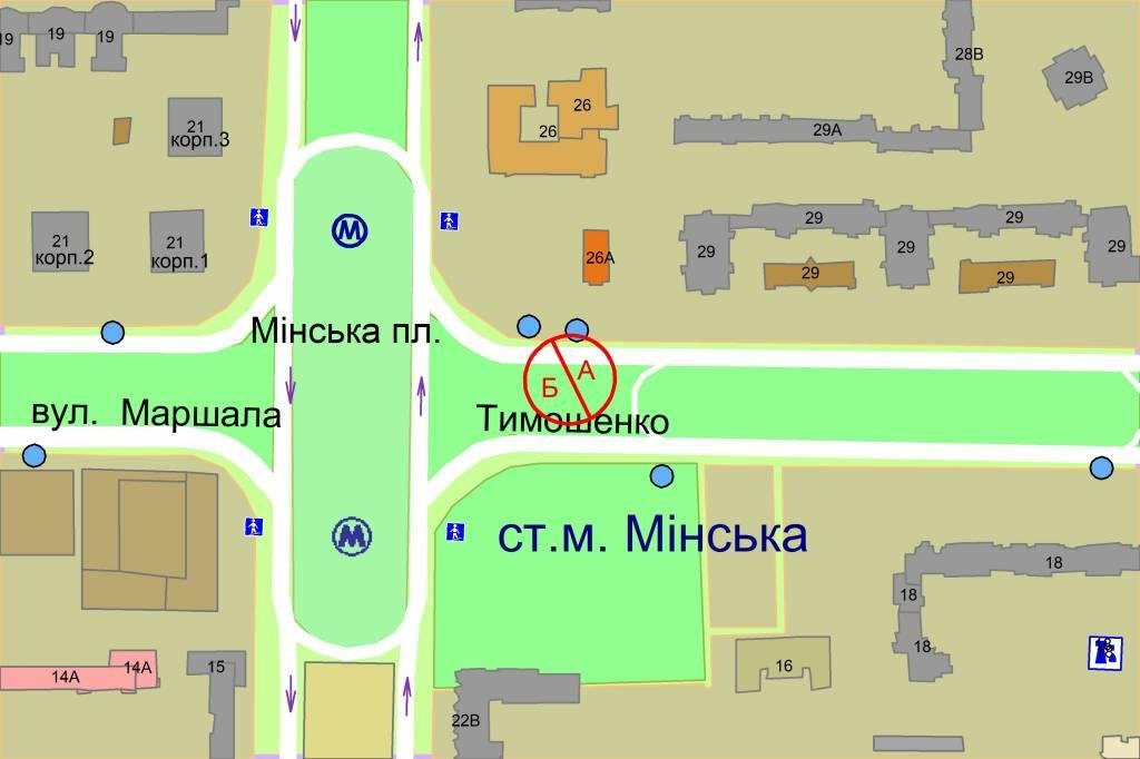 IDMedia Наружная реклама в городе Киев (Киевская область), Скролл в городе Киев №238274 схема