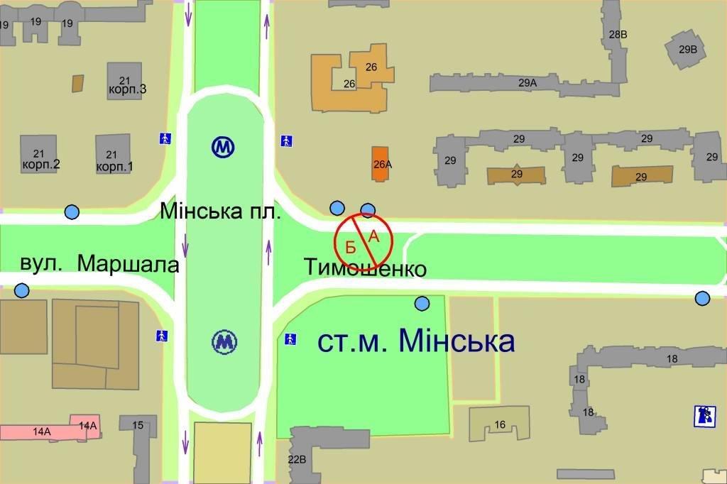 IDMedia Наружная реклама в городе Киев (Киевская область), Скролл в городе Киев №238277 схема