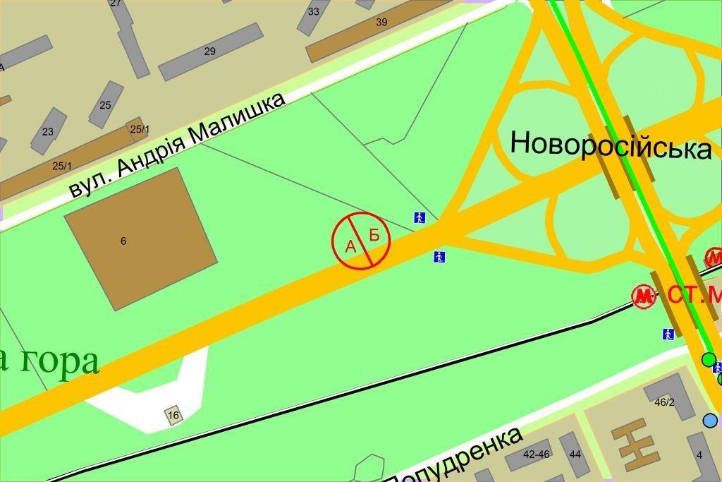 IDMedia Наружная реклама в городе Киев (Киевская область), Бэклайт в городе Киев №238423 схема