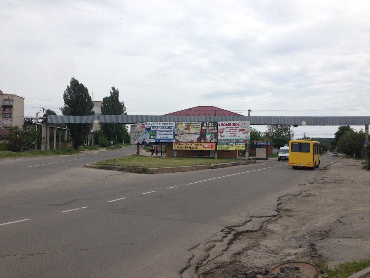 Билборд №238599 в городе Васильков (Киевская область), размещение наружной рекламы, IDMedia-аренда по самым низким ценам!