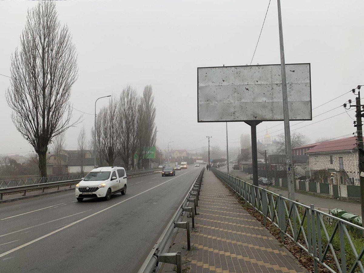 Билборд №238602 в городе Петропавловская Борщаговка (Киевская область), размещение наружной рекламы, IDMedia-аренда по самым низким ценам!