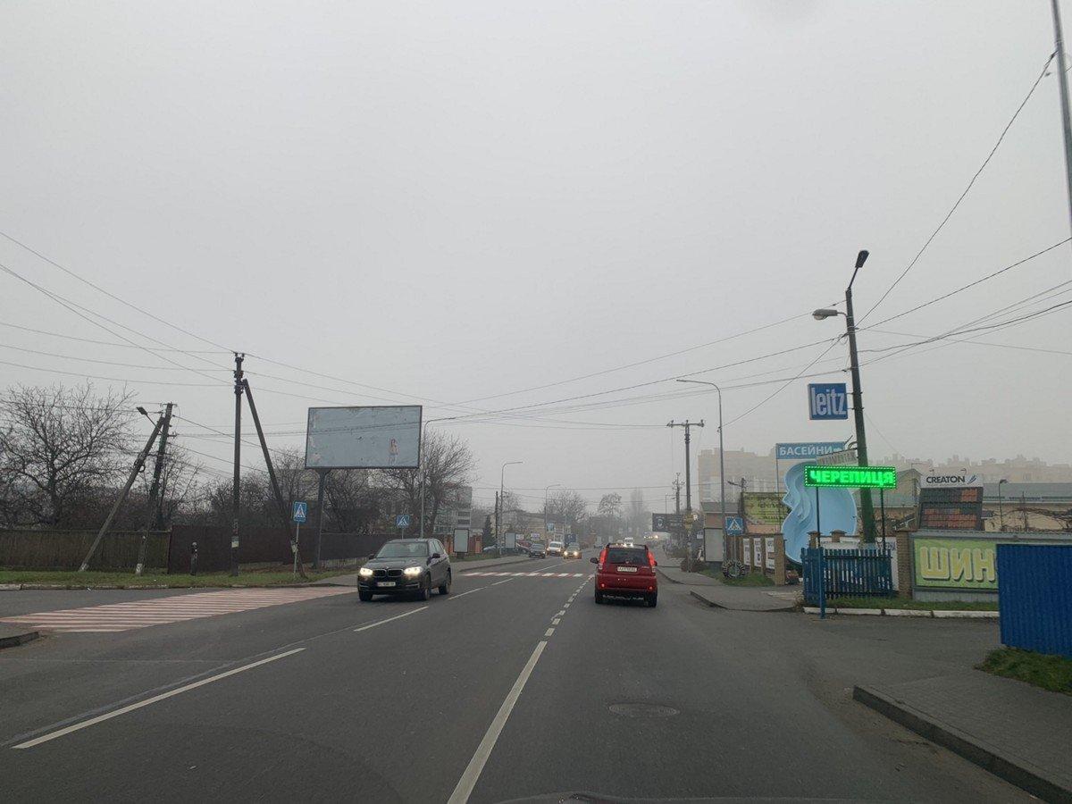 Билборд №238605 в городе Петропавловская Борщаговка (Киевская область), размещение наружной рекламы, IDMedia-аренда по самым низким ценам!