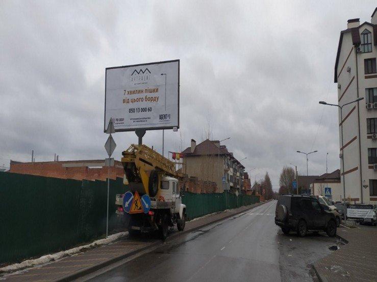 Билборд №238607 в городе Петропавловская Борщаговка (Киевская область), размещение наружной рекламы, IDMedia-аренда по самым низким ценам!