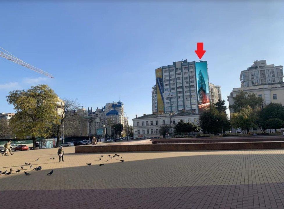 Брандмауэр №238653 в городе Одесса (Одесская область), размещение наружной рекламы, IDMedia-аренда по самым низким ценам!
