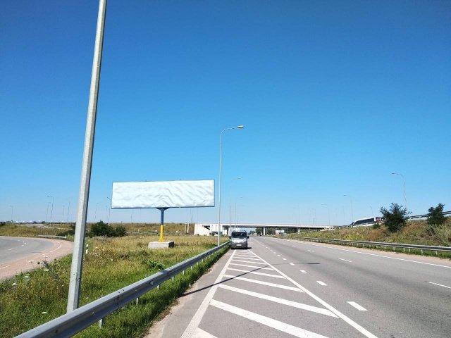 Билборд №238860 в городе Житомир трасса (Житомирская область), размещение наружной рекламы, IDMedia-аренда по самым низким ценам!