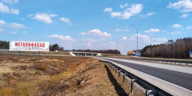 Билборд №238864 в городе Житомир трасса (Житомирская область), размещение наружной рекламы, IDMedia-аренда по самым низким ценам!