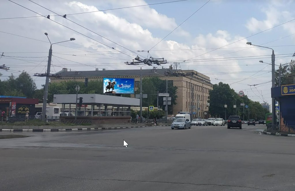 Экран №238919 в городе Харьков (Харьковская область), размещение наружной рекламы, IDMedia-аренда по самым низким ценам!