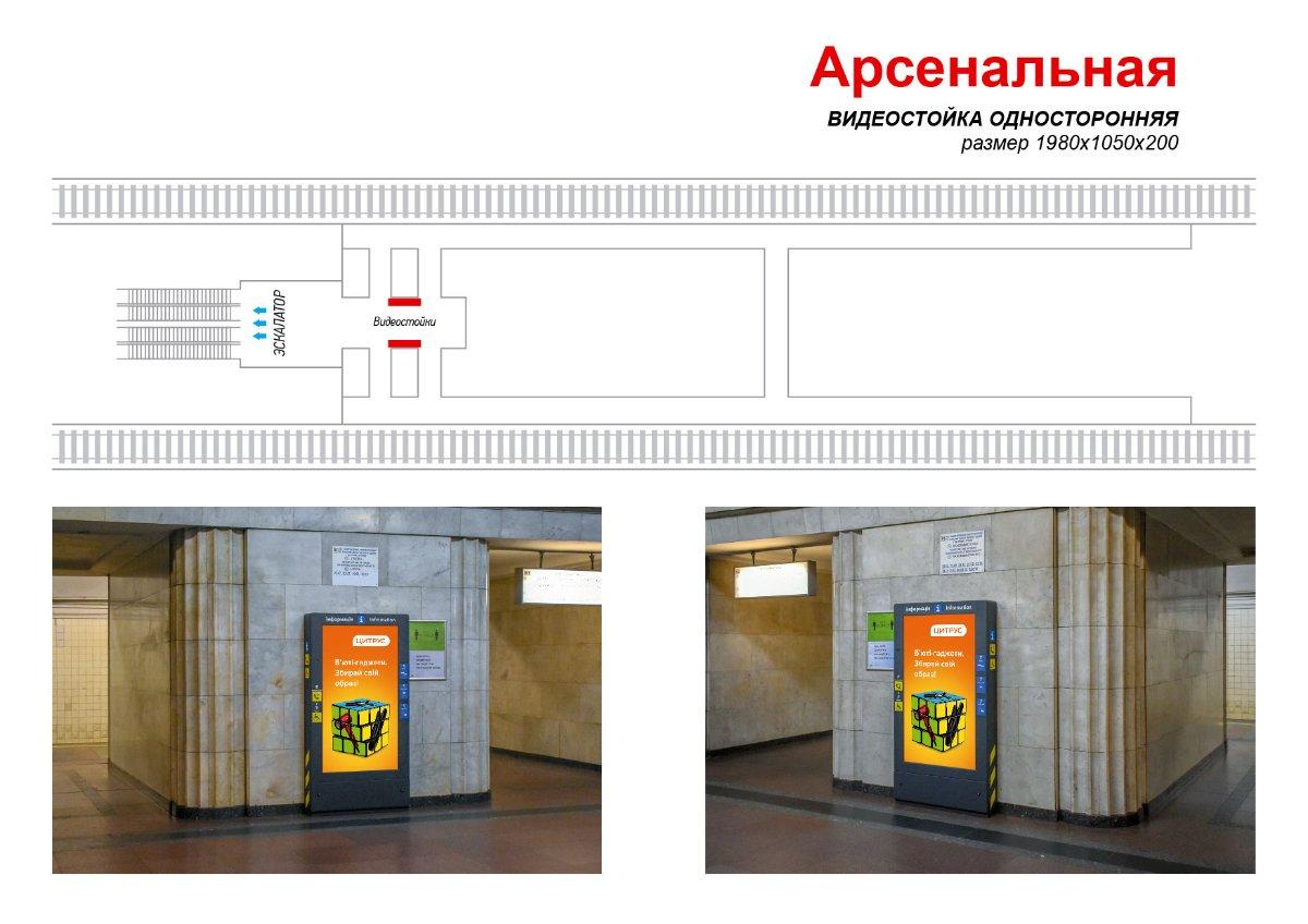 Метро Digital №238970 в городе Киев (Киевская область), размещение наружной рекламы, IDMedia-аренда по самым низким ценам!