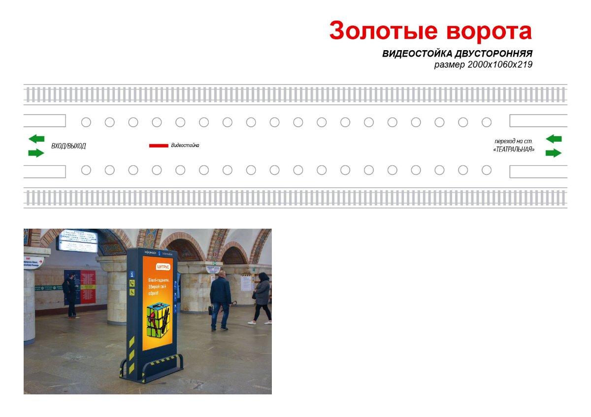 Метро Digital №238992 в городе Киев (Киевская область), размещение наружной рекламы, IDMedia-аренда по самым низким ценам!
