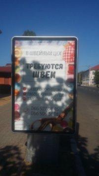 Ситилайт №239227 в городе Балта (Одесская область), размещение наружной рекламы, IDMedia-аренда по самым низким ценам!