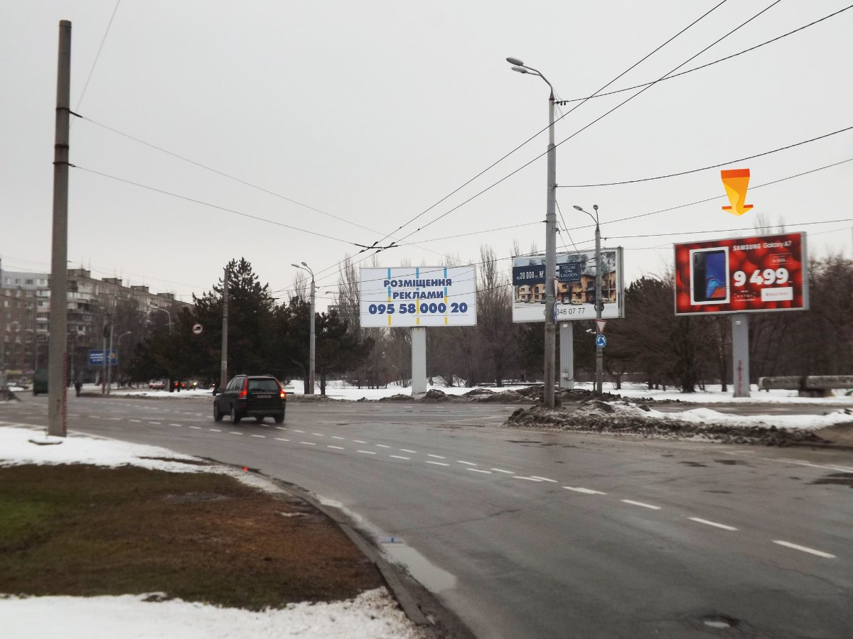 Бэклайт №239672 в городе Днепр (Днепропетровская область), размещение наружной рекламы, IDMedia-аренда по самым низким ценам!