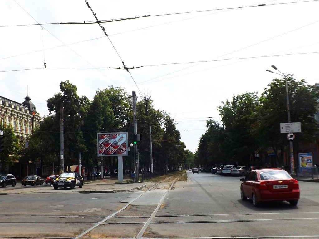 Скролл №239802 в городе Днепр (Днепропетровская область), размещение наружной рекламы, IDMedia-аренда по самым низким ценам!