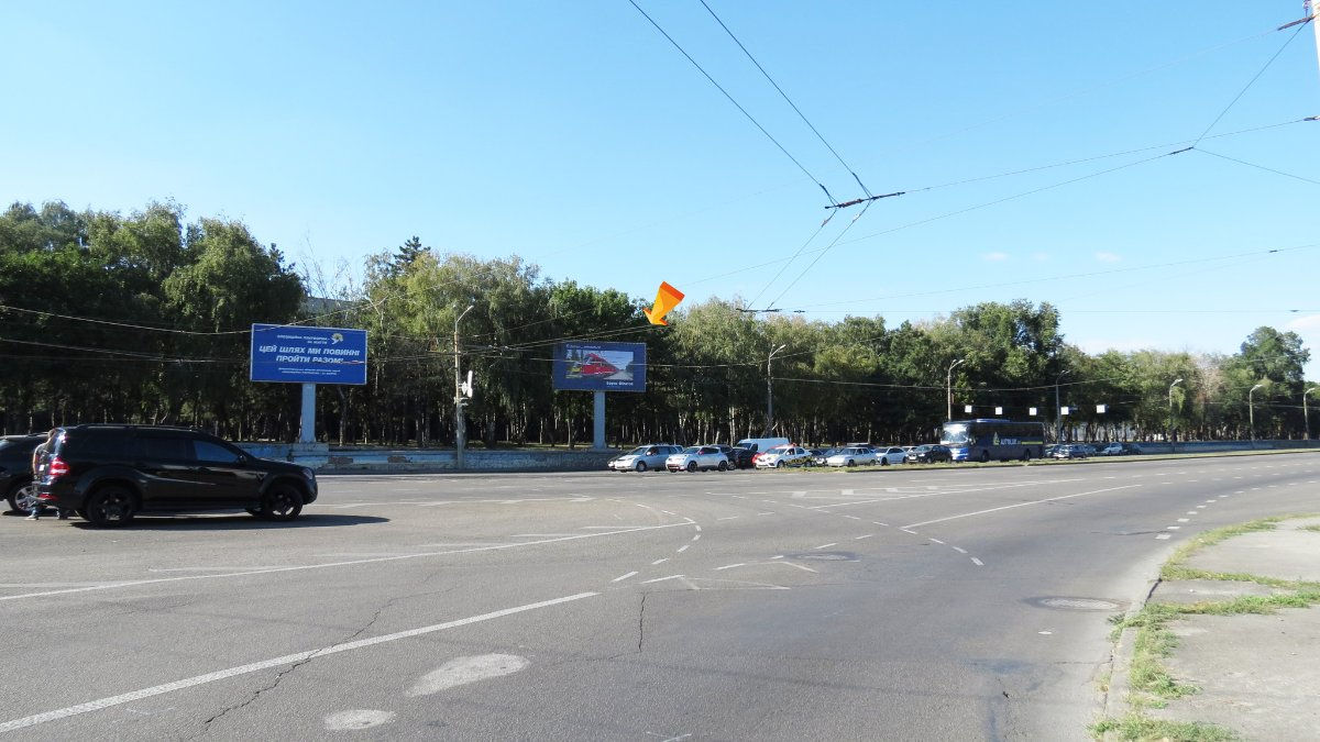 Бэклайт №240022 в городе Днепр (Днепропетровская область), размещение наружной рекламы, IDMedia-аренда по самым низким ценам!