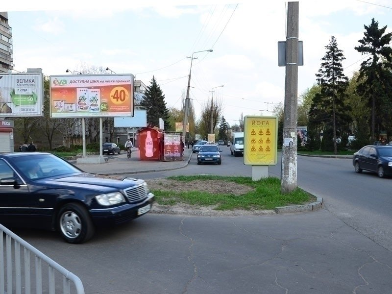Ситилайт №240237 в городе Днепр (Днепропетровская область), размещение наружной рекламы, IDMedia-аренда по самым низким ценам!